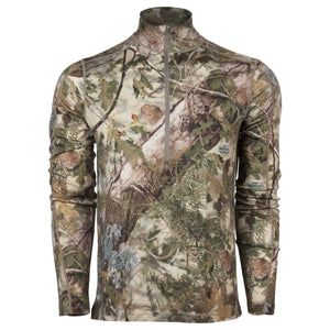 Closeout XKG Foundation Merino 1/4 Zip Mountain Shadow | King's Camo