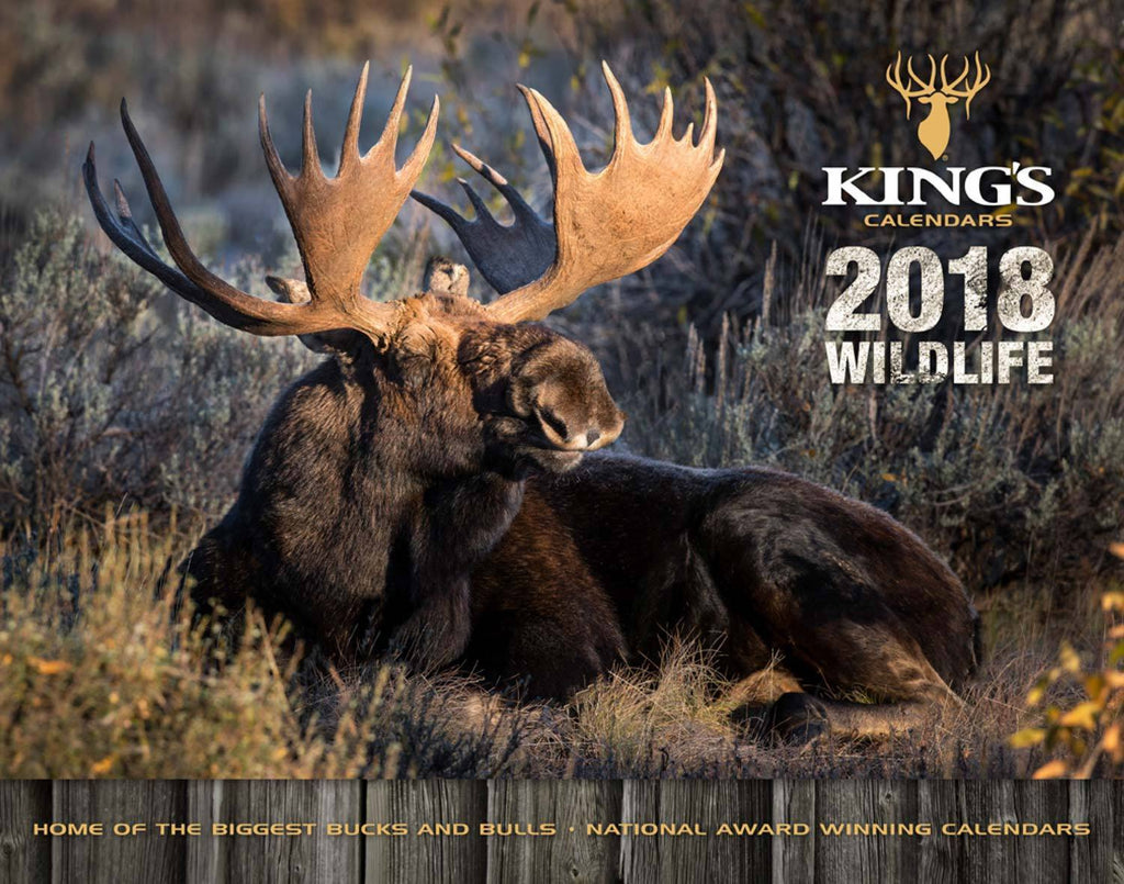2018 King's Wildlife Calendar