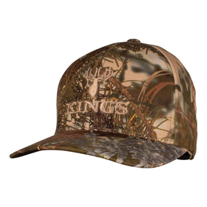 Richardson Structured Camo Logo R-Flex Cap in Mountain Shadow | King's Camo