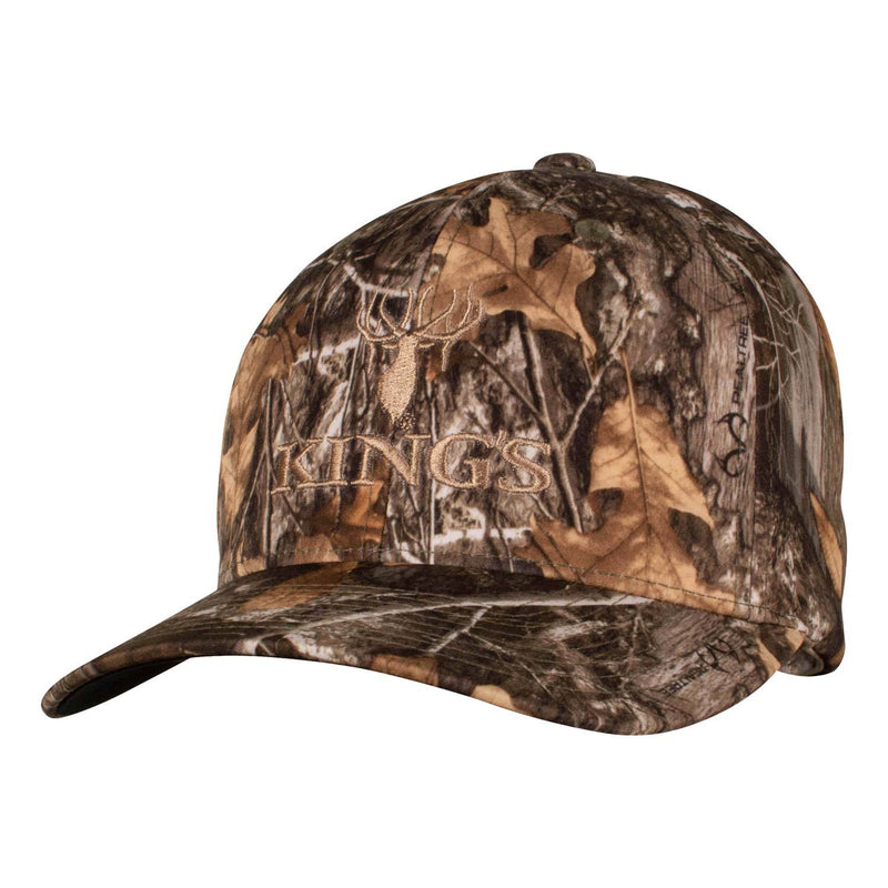 Richardson Structured Camo Logo R-Flex Cap in Realtree Edge | King's Camo