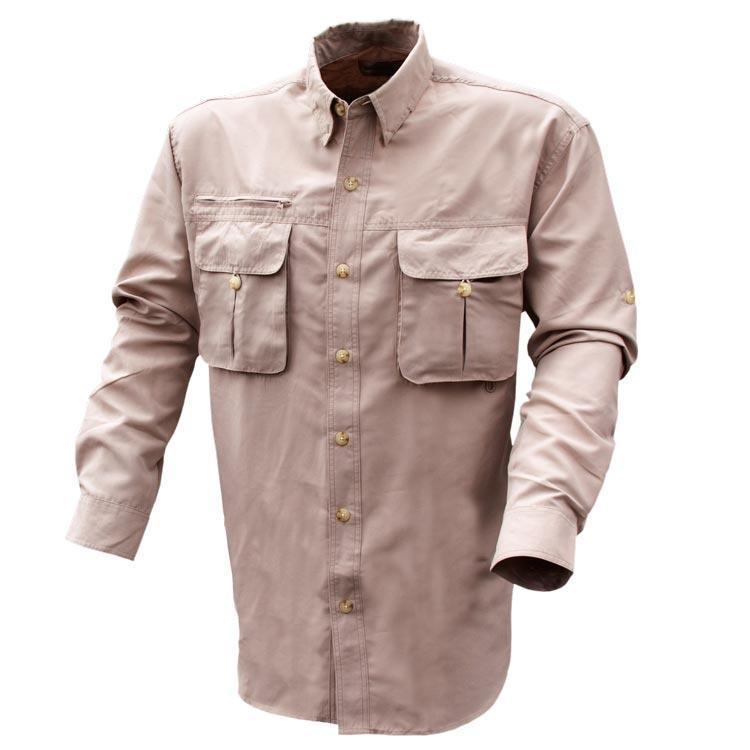 PACA Long Sleeve Fishing & Travel Shirt Medium | King's Camo