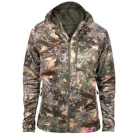 Women's XKG Hightop Full-Zip Hoodie Desert Shadow | King's Camo