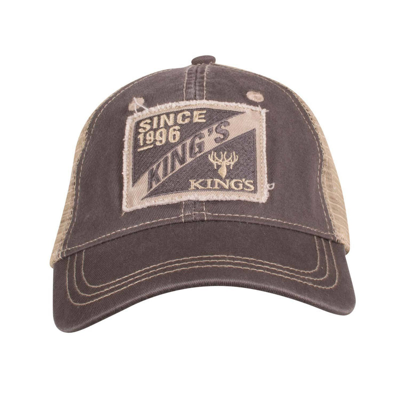 King's Embroidery Patch Cap