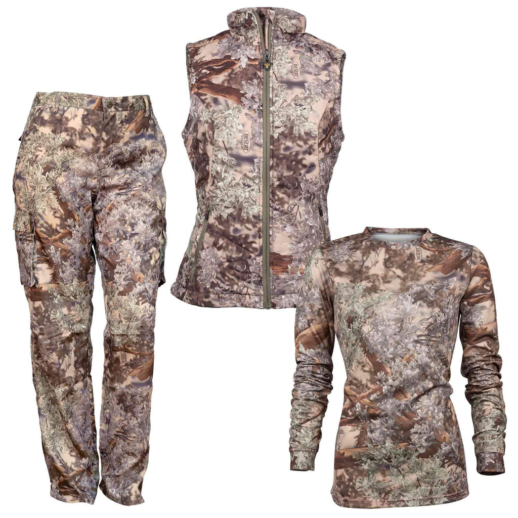 Women's Hunter Bundle in Desert Shadow® Small Vest | King's Camo