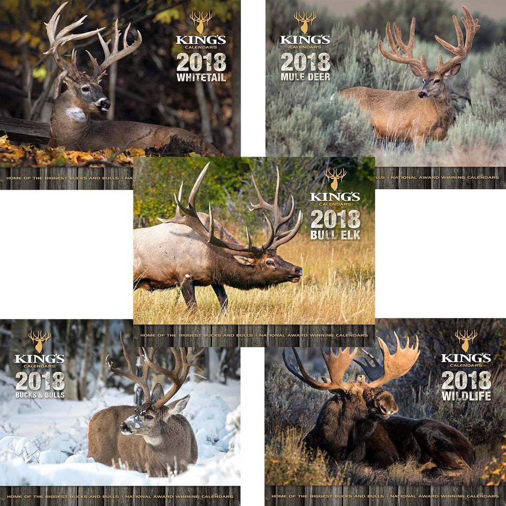 2018 King's Calendar Bundle 5 Pack