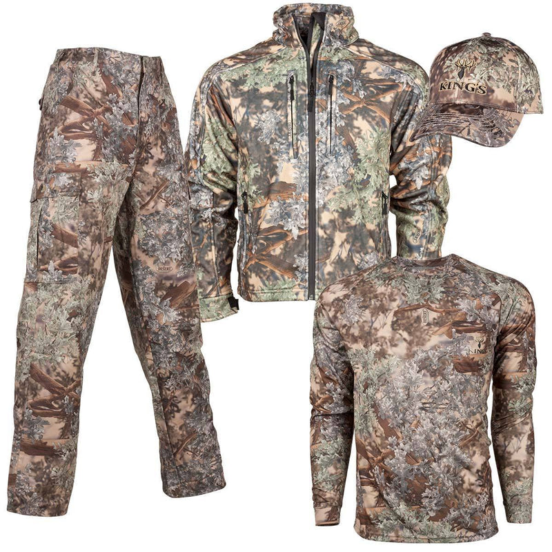 Men's Storm Hunter Bundle in Desert Shadow Medium Jacket | King's Camo