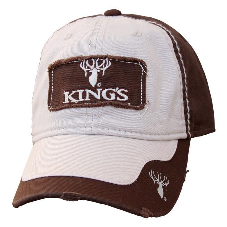 Tattered Patch Logo Cap | King's Camo