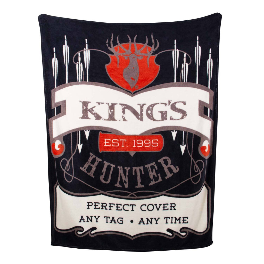 King's Fleece Blanket | King's Camo