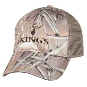 6 Panel Mesh Back Hat Field Shadow | King's Camo