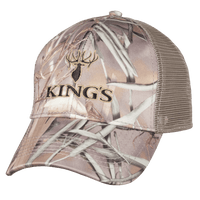 6 Panel Mesh Back Hat | King's Camo
