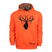 Blaze Orange Poly Hoodie | King's Camo