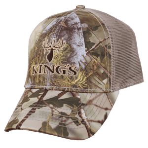 6 Panel Mesh Back Hat Mountain Shadow | King's Camo