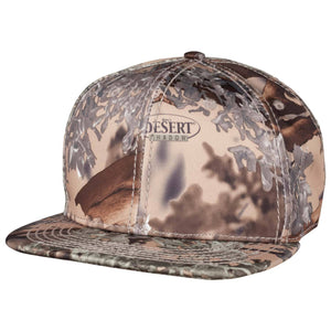 Flat Bill Snapback Hat Blank Desert Shadow | King's Camo