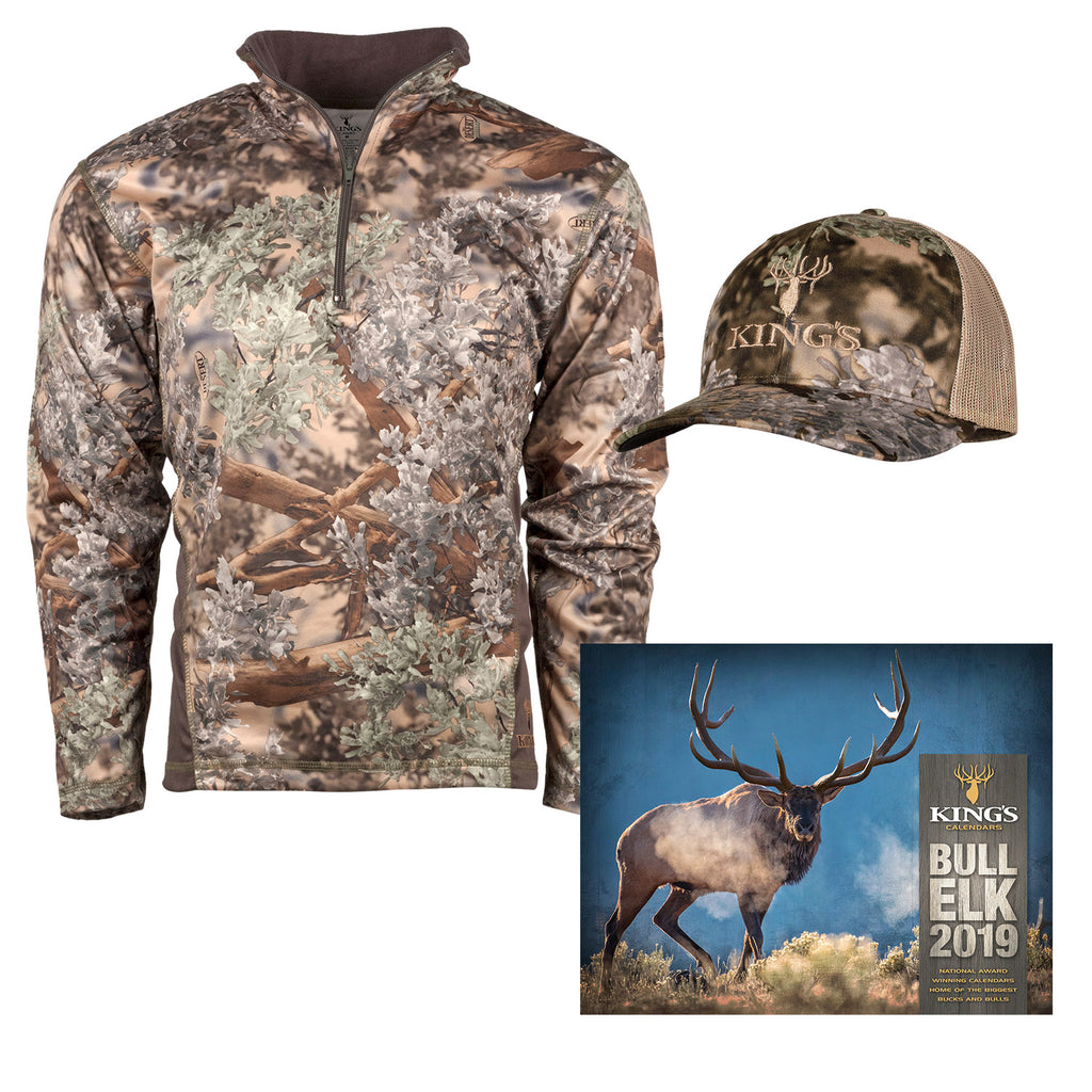 King's Big Game Bundle with Bull Elk Calendar | King's Camo