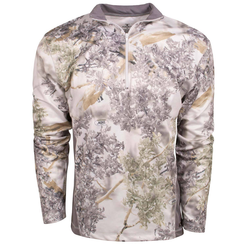 KC1 1/4 Zip Pullover Snow Shadow | King's Camo