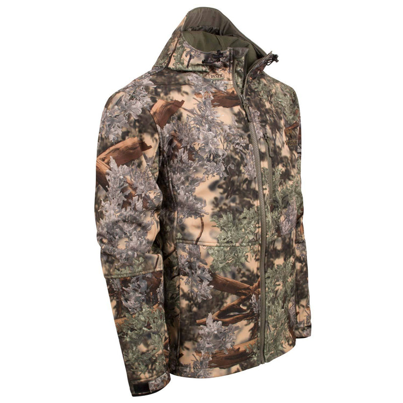 KC1 Soft Shell Jacket in Desert Shadow | King's Camo