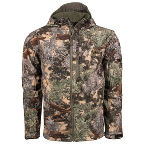 KC1 Soft Shell Hooded Jacket in Desert Shadow | King's Camo