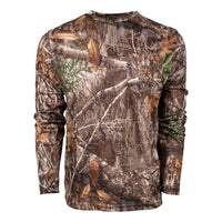 KC1 Long Sleeve Tee in Realtree EDGE | King's Camo