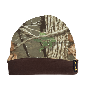 Classic Reversible Beanie Woodland Shadow | King's Camo
