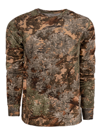Classic Cotton Long Sleeve Tee in Desert Shadow | King's Camo