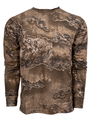 Classic Cotton Long Sleeve Tee in Realtree Excape | King's Camo