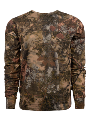 Classic Cotton Long Sleeve Tee in Mountain Shadow | King's Camo