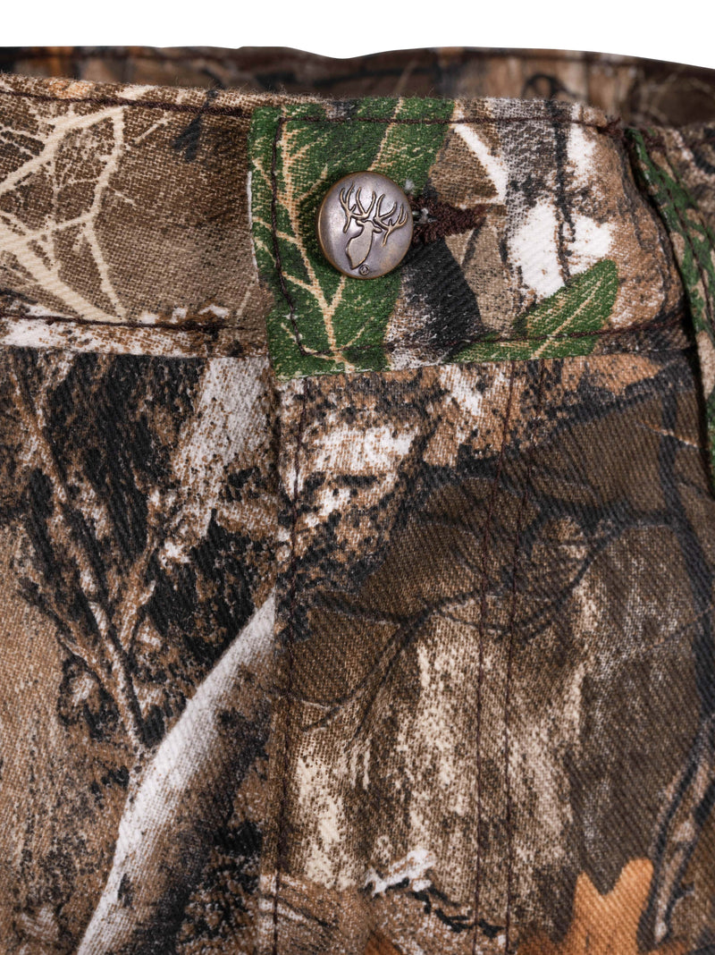 Classic Flannel Lined Pant in Realtree Edge | King's Camo