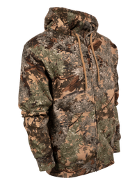 Classic Cotton Full-Zip Hoodie in Desert Shadow | King's Camo