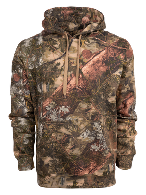 Classic Cotton Pullover Hoodie in Mountain Shadow | King's Camo