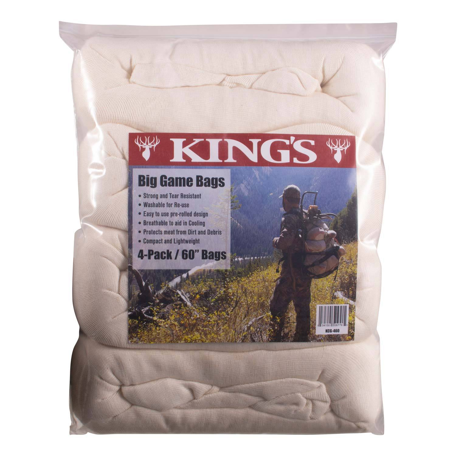 King's 4-Pack Large Game Bags   King's Camo
