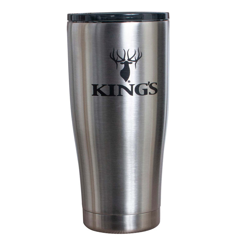 King's Logo Tumbler in Stainless Steel | King's Camo