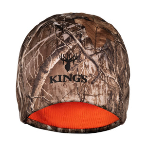 Reversible Poly Beanie in Realtree Edge | King's Camo
