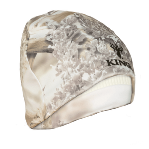 Reversible Poly Beanie in Snow Shadow | King's Camo
