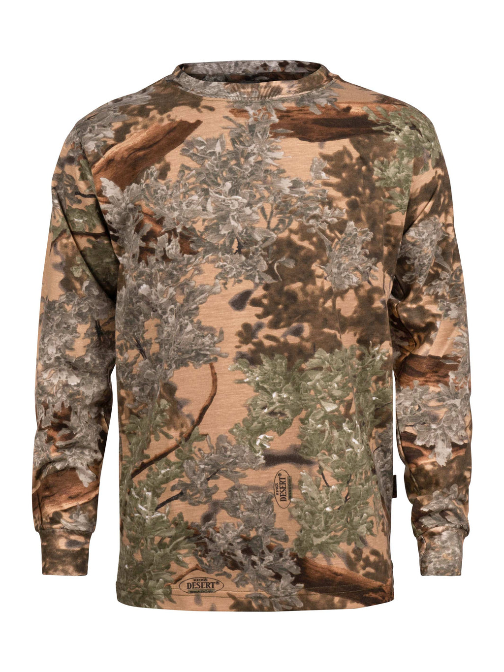 Kids Classic Long Sleeve Shirt in Desert Shadow | King's Camo