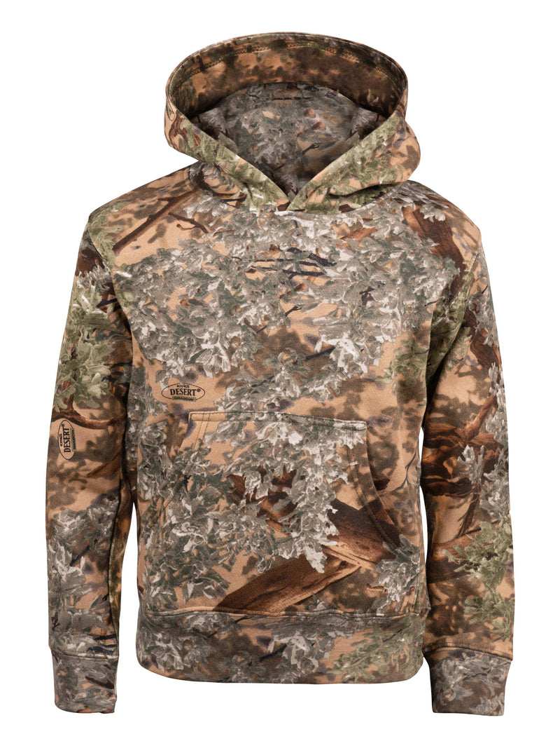 Kids Classic Hoodie in Desert Shadow | King's Camo