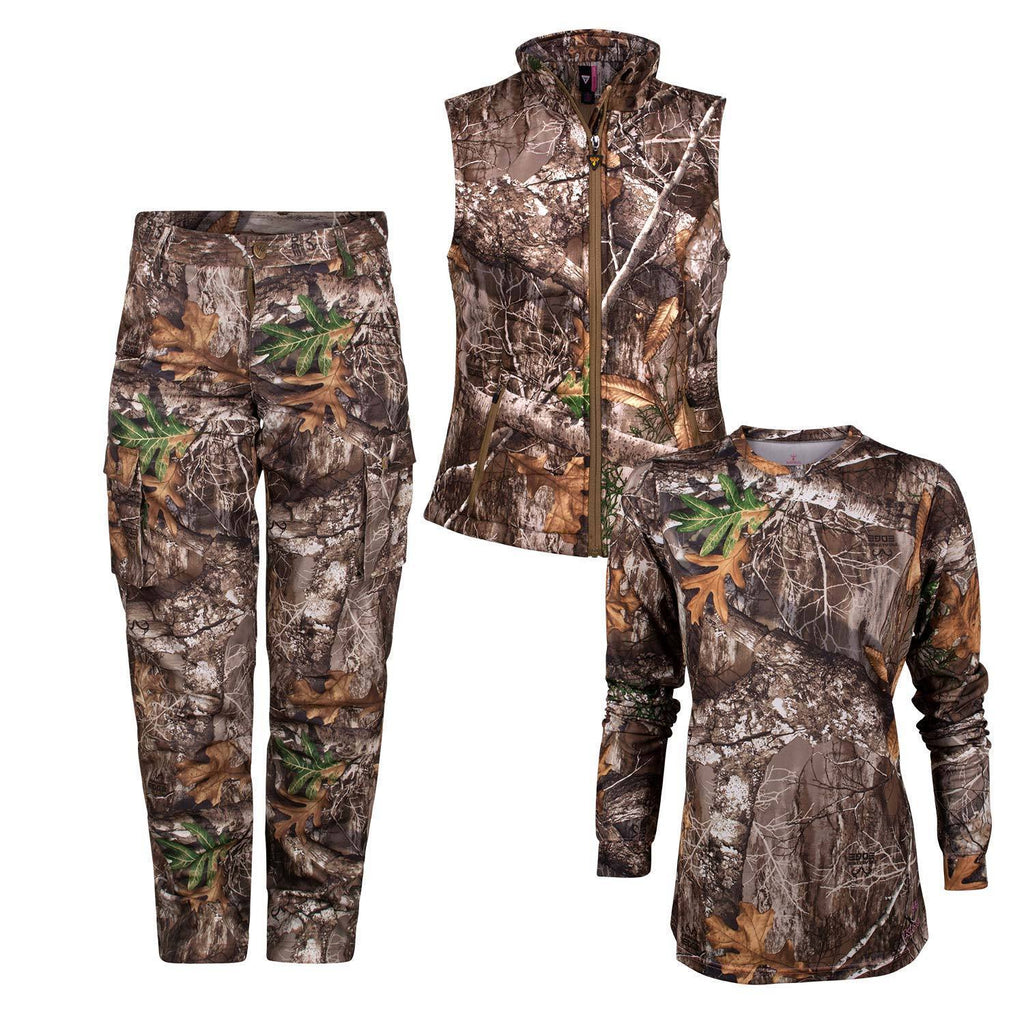 Women's Hunter Bundle in Realtree Edge® Small Vest | King's Camo