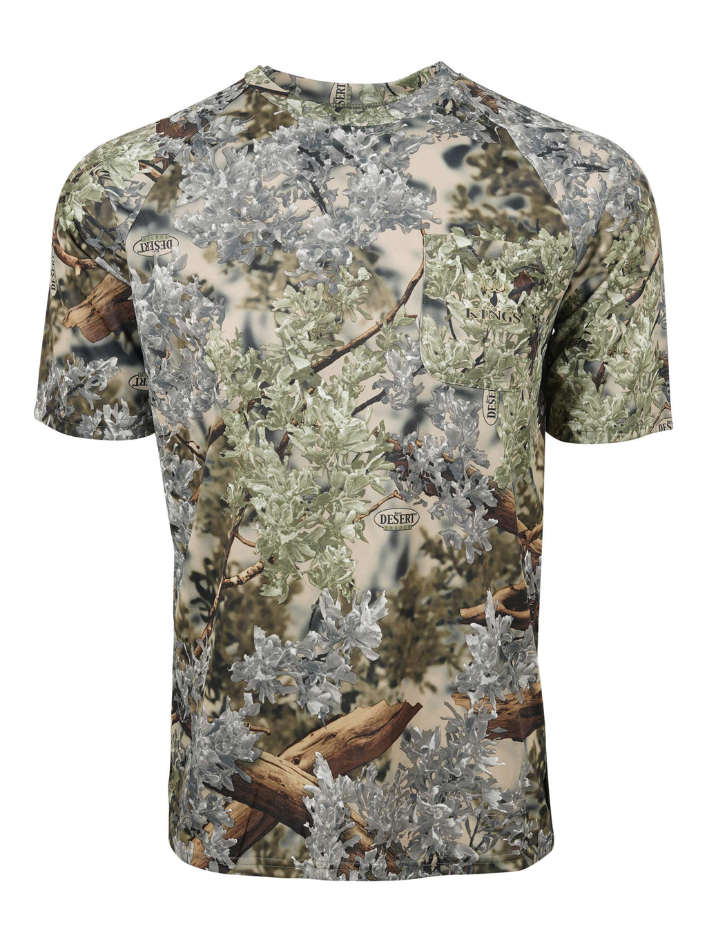 Hunter Series Short Sleeve Tee in Desert Shadow | King's Camo