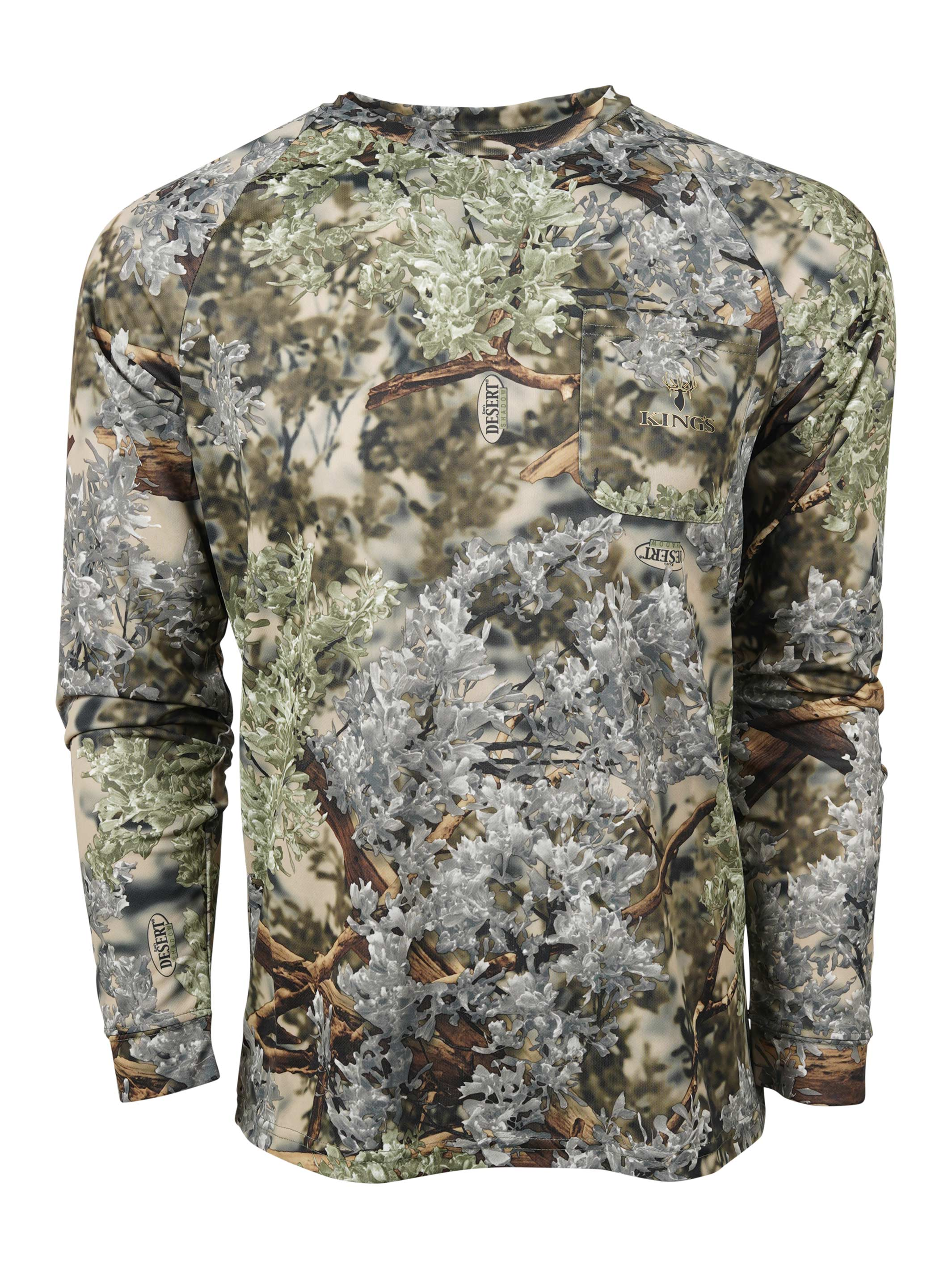 StormKloth God/'s Country Camouflage Long Sleeve Camo T Shirt