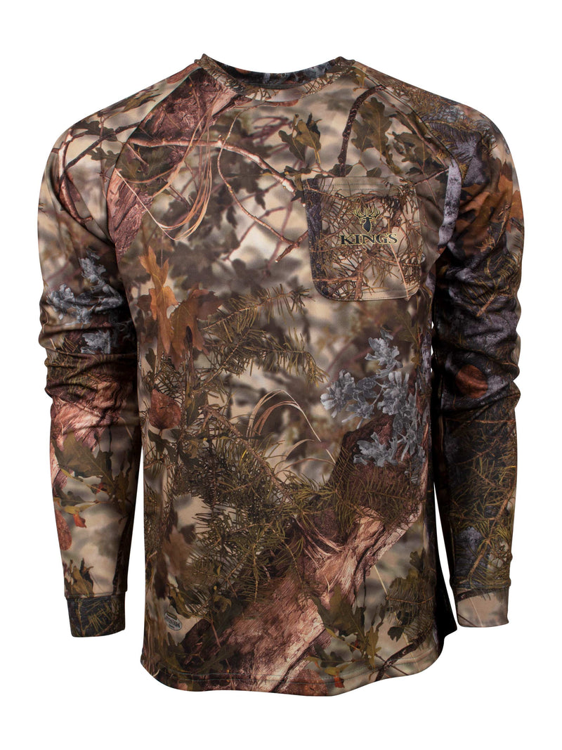 Hunter Series Long Sleeve Shirt in Mountain Shadow | King's Camo