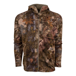 Hunter Full-Zip Fleece Hoodie in Mountain Shadow | King's Camo