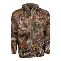 Hunter Full-Zip Fleece Hoodie in Realtree EDGE | King's Camo