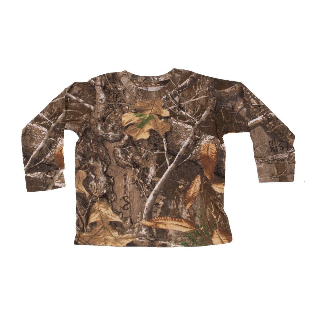 Infant Toddler Long Sleeve Tee Realtree Edge | King's Camo