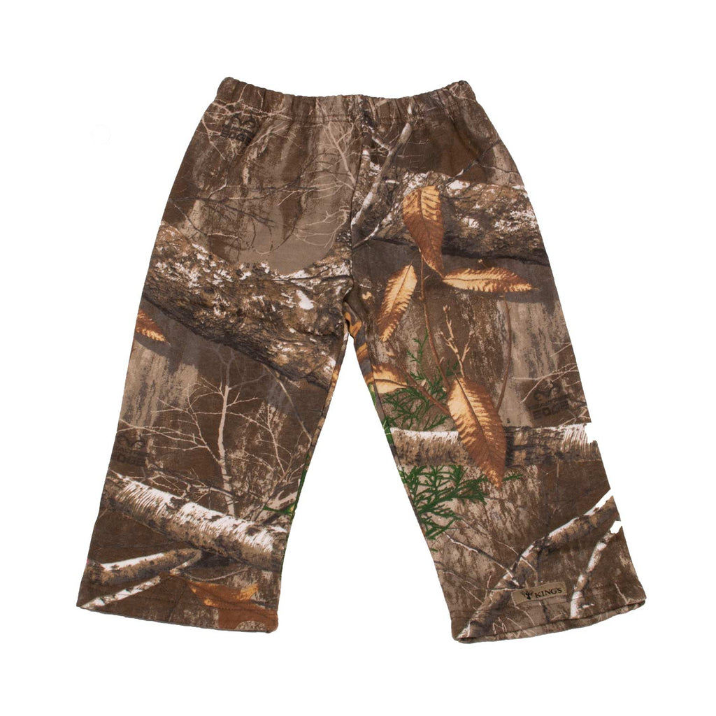 Toddler Fleece Pant in Realtree Edge | King's Camo