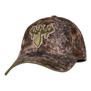 King's Distressed Logo Cap in Olive | King's Camo