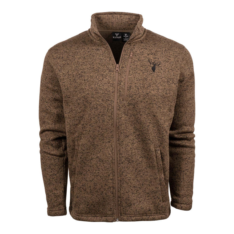 King's Lifestyle Full-Zip Sweater | King's Camo