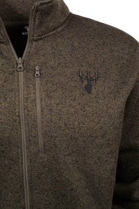 King's Logo Sweater in Forrest Night | King's Camo