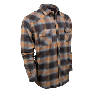 King's Blue/Graphite Flannel | King's Camo