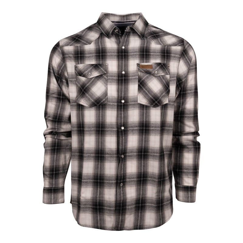 King's Flannel in Black | King's Camo