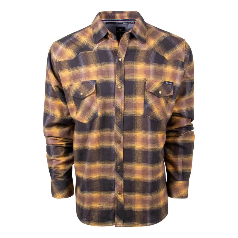 King's Gold/Graphite Flannel | King's Camo