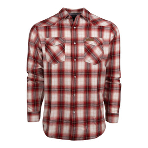 King's Flannel in Red | King's Camo